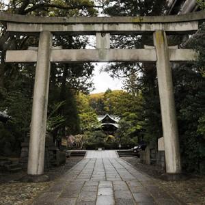 京都岡崎神社鳥居