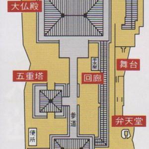 川会山長楽寺境内図