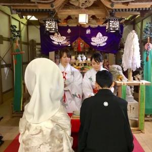 結婚式の様子1