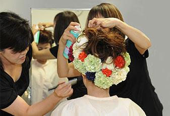 婚礼美容のスペシャリストによる和装・ヘアメイク