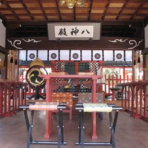 儀式殿内部