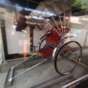 人力車(挙式のオプションで利用可)